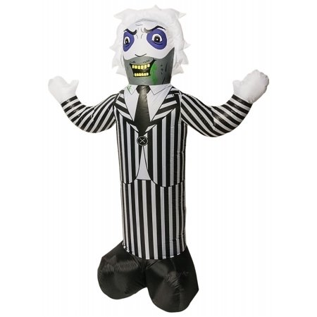 Beetlejuice Lawn Inflatable Prop Halloween Decoration - Inflatable Halloween Props