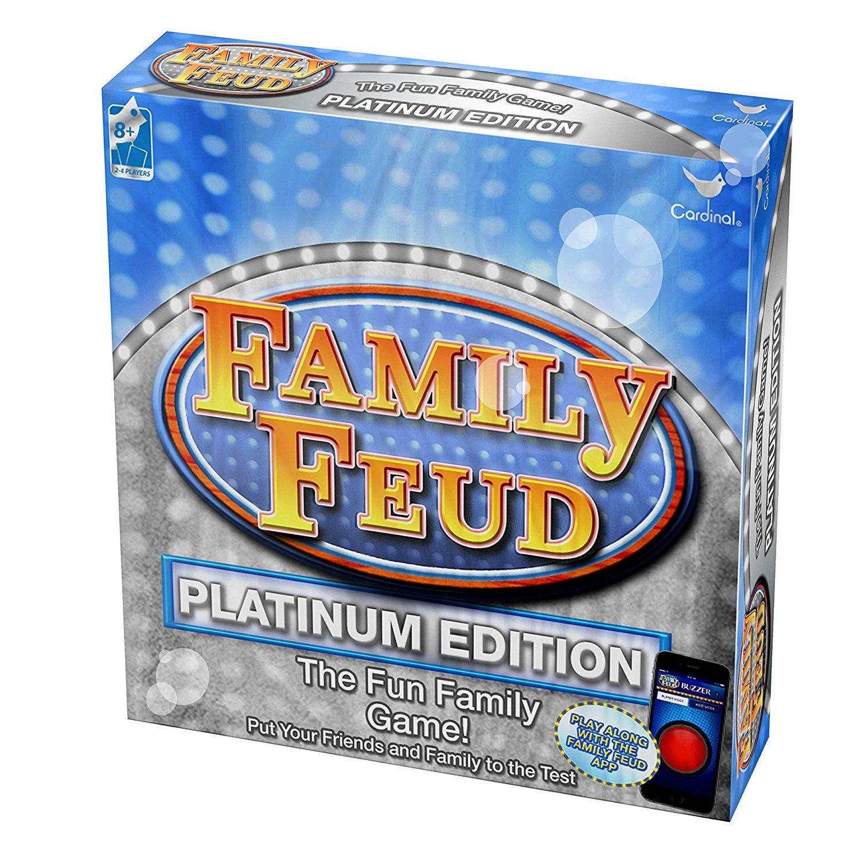 Cardinal Industries Platinum Family Feud Signature Game