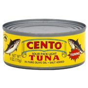 Cento Solid Pack Light Tuna, 5 oz (Pack of 24)