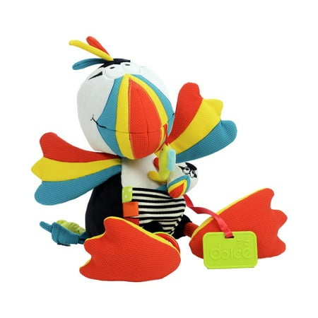 Dolce Puffin with Finger Puppet Interactive Stuffed Animal Plush Toy