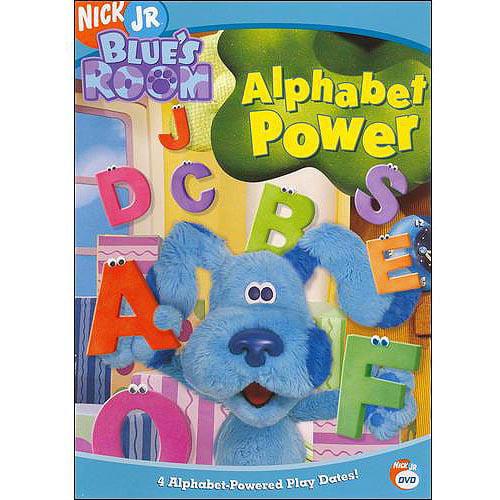 blue's clues blue's room  alphabet power  walmart,