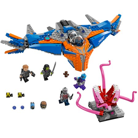 Lego Super Heroes Marvel Guardians Of The Galaxy The Milano Vs  The Abilisk  76081