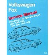 Volkswagen Fox Service Manual : 1987-1993