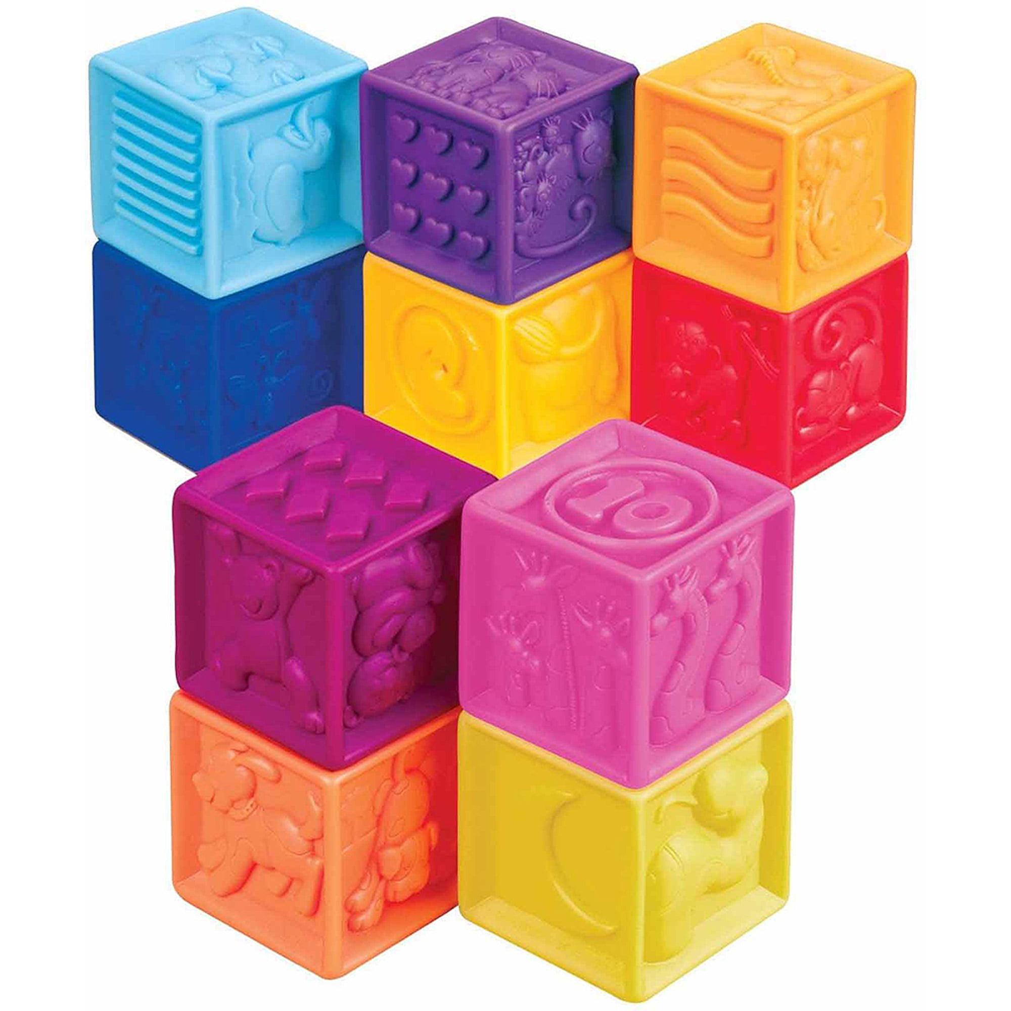 Battat B. One Two Squeeze Blocks by Battat