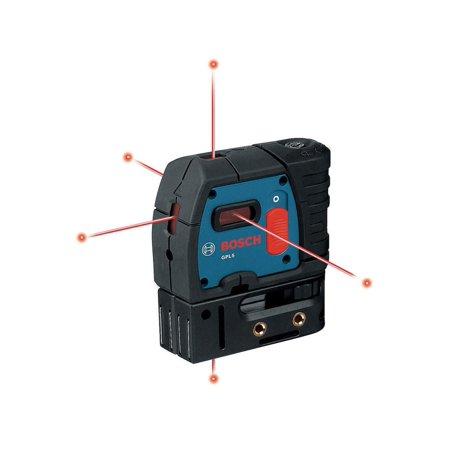 Bosch GPL 5 R 100-Foot 5-Point Self-Leveling Line Generator Alignment Beam Laser Level (New Open Box)