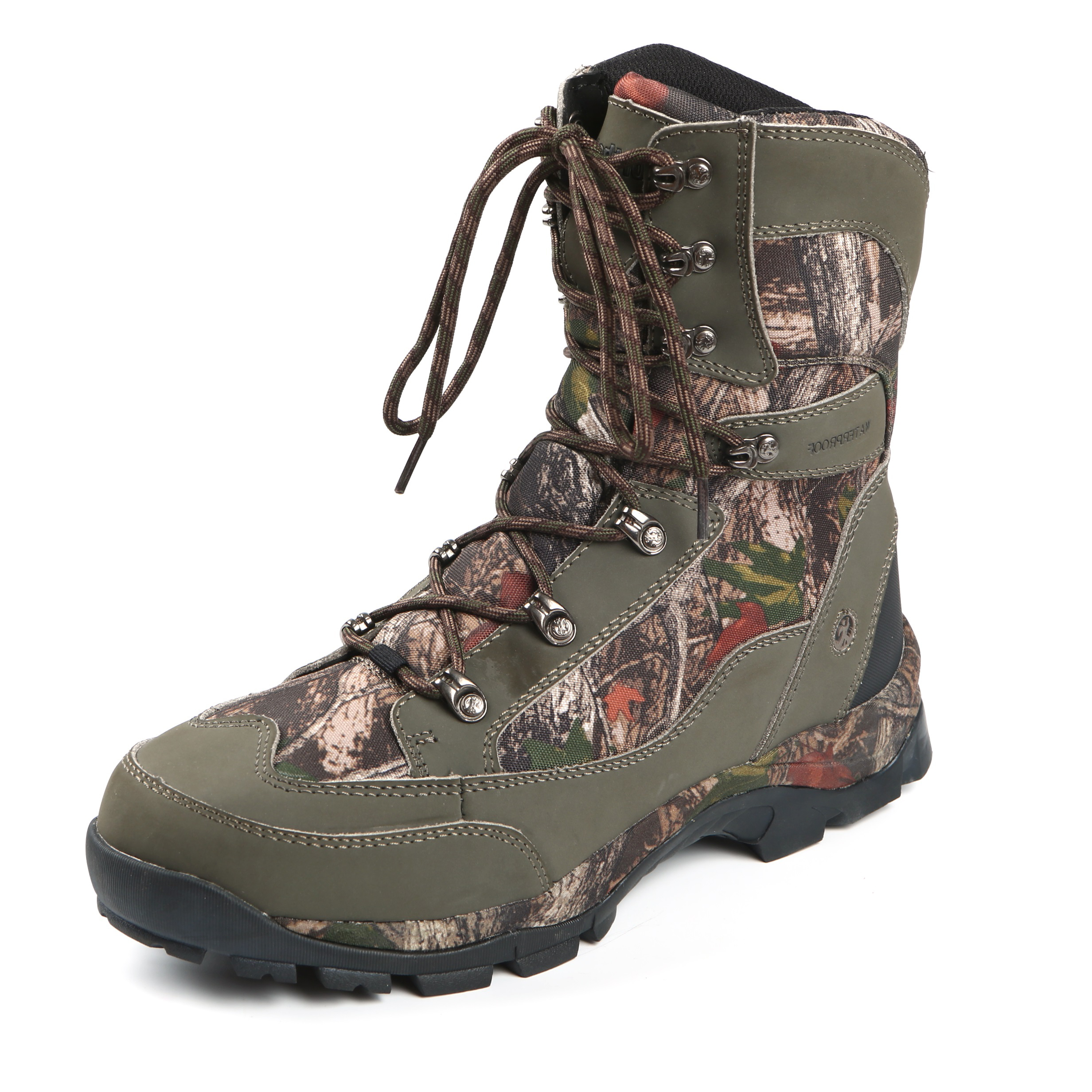 Northside Mens Buckman Waterproof Leather Hunting Winter Boot Camo