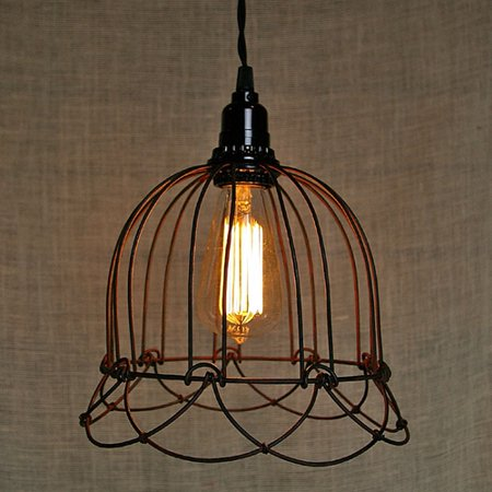 event decor pendant light small wire bell lamp plug in. Black Bedroom Furniture Sets. Home Design Ideas