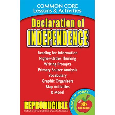 History Of Halloween Lesson Activity (Declaration of Independence Common Core Lessons & Activities : Common Core Lessons &)