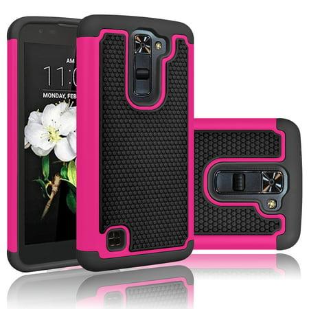 promo code 55aac 7510b LG K8 Case [Not for LG K8 V LG K8V], Phoenix 2 Case Cover, LG Escape 3  Phone Case, Tekcoo [Tmajor] Shock Absorbing Hybrid Rubber Plastic Impact ...