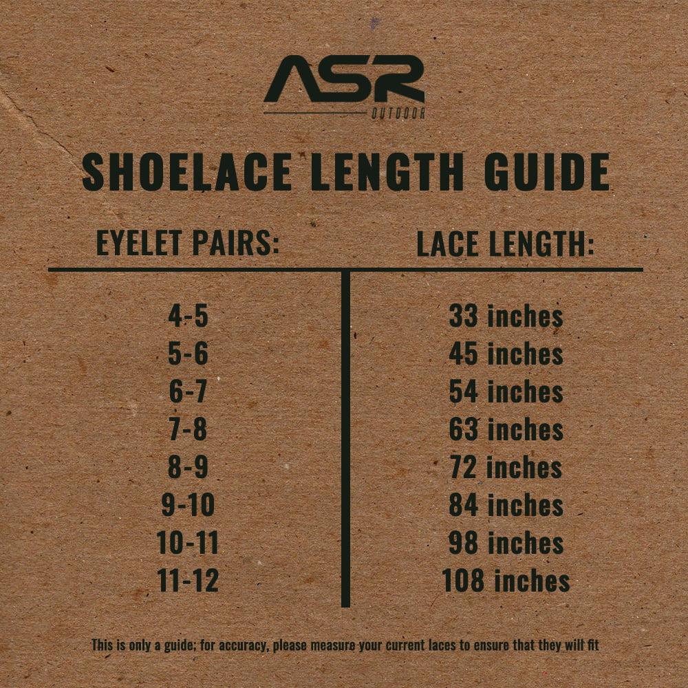 1 Pair Outdoor Survival Emergency Shoelace Tactical Boot Shoe Laces