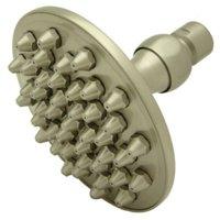 """Elements Of Design DK1348 Satin Nickel 4-3/4"""" Brass Rain Shower Head"""