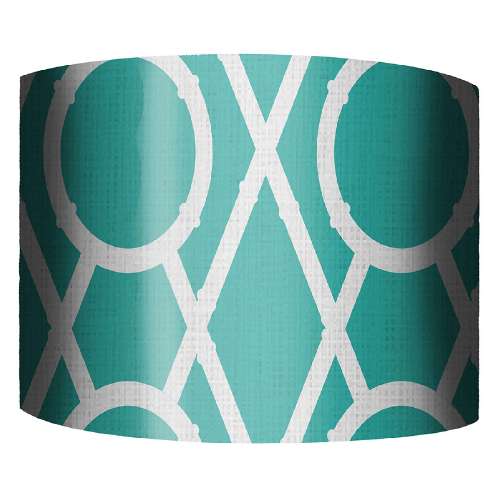 PTM Images Xs and Os C Drum Lamp Shade