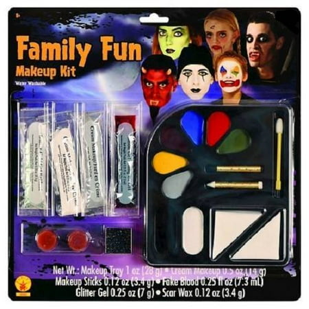 Clown Vampire Witch Ghost Makeup Kit Great for Dress Up or Circus Party Themes or Halloween