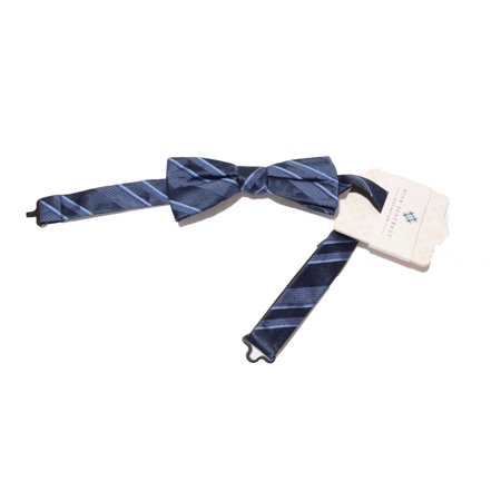 Ryan Seacrest Distinction Boulevard Satin Stripe Bow Tie Adjustable