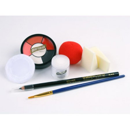 Graftobian Clown Makeup Kits - Auguste/Hobo