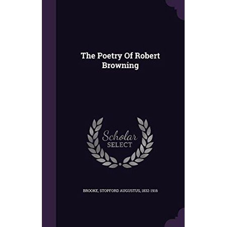 The Poetry of Robert Browning - image 1 de 1