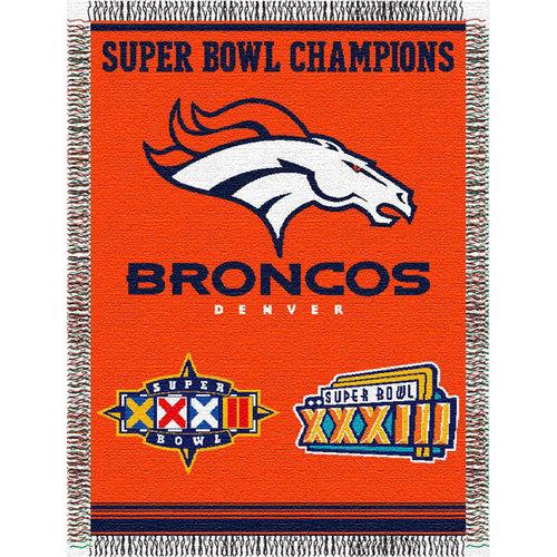 NFL - Denver Broncos 48x60 Commemorative Tapestry Throw