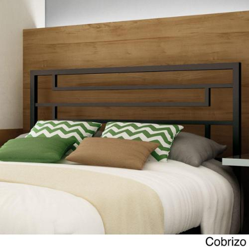 Amisco Temple 54-inch Full-size Metal Headboard Amisco Temple Queen-Size Headboard in Cobrizo