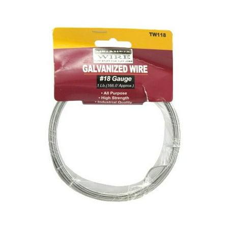 1 lb. Coil 18 Ga. X 166' Galvanized Tie Wire