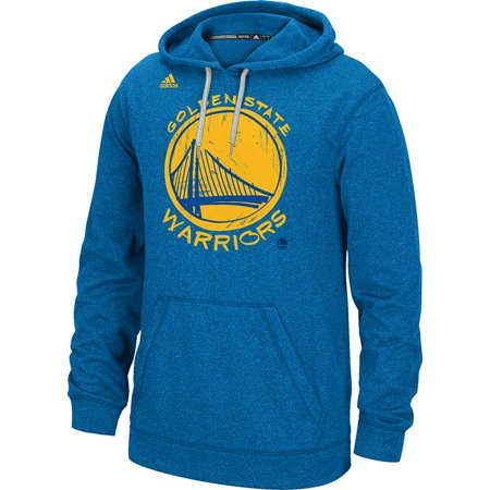 Adidas Golden State Warriors Quick Draw Climawarm Hoodie (Blue) by