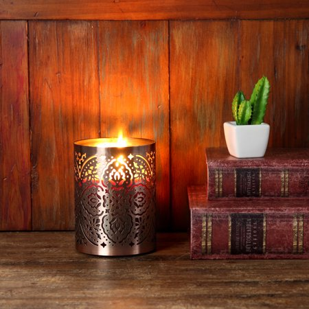 Better Homes & Gardens Metal Morocco Candle Sleeve - Best