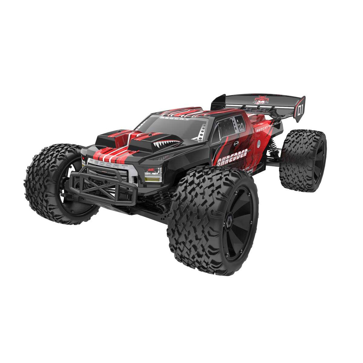 Redcat Shredder 1 6 Scale Brushless Electric Remote Control Monster Truck, Red by Redcat Racing