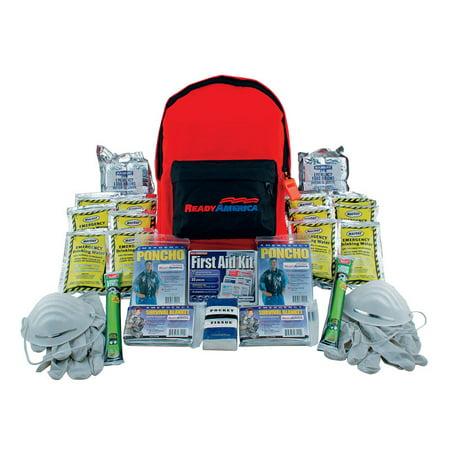Ready America 70280 3 Day 2 Person Emergency Backpack Walmart Com