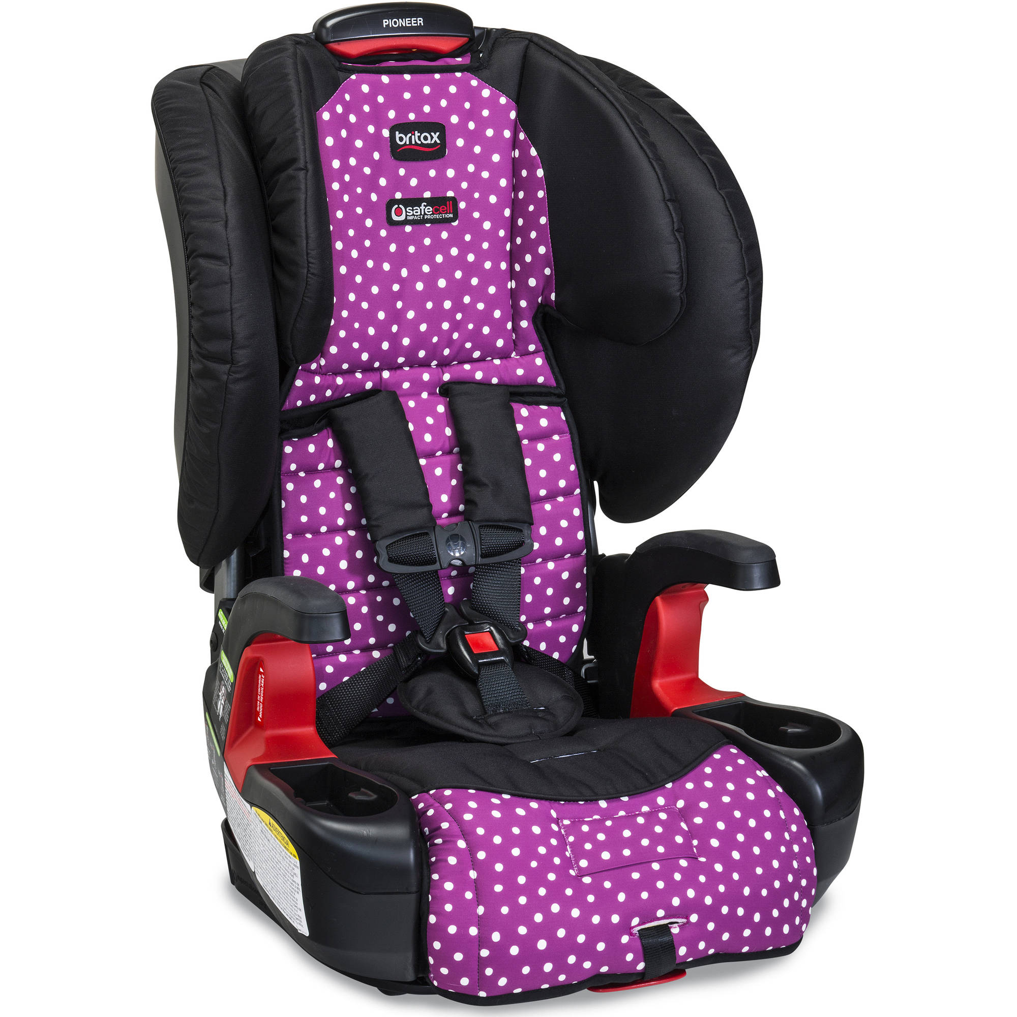Pioneer G1.1 Harness-2-Booster Car Seat, Confetti