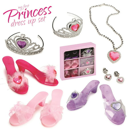 Princess Toddler Dress Up Shoes Costume Shoes Toys For Girls Set Disney Princess](Male Disney Characters To Dress Up As)
