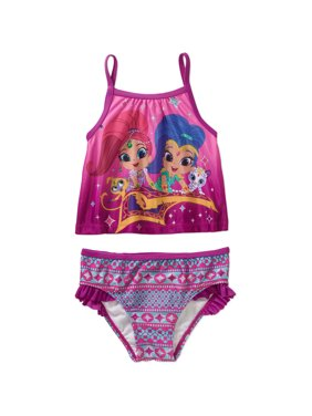 Toddler Girl Tankini 2-piece Swimsuit