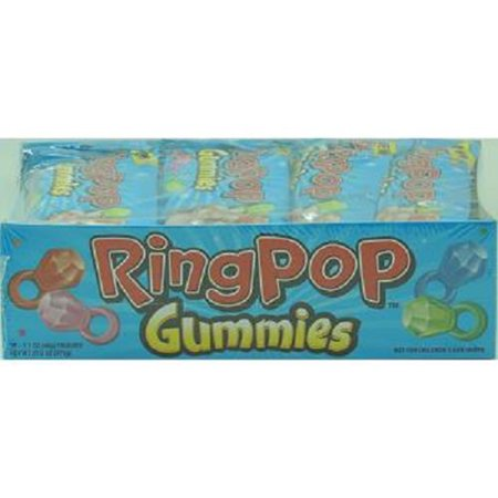 Bazooka Ring Pop Gummies Pouch, 1.70 Ounce (Pack of - Ring Pops