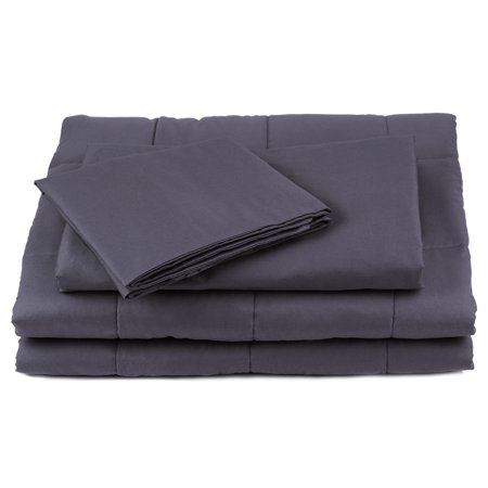 duvet cover for weighted blanket 60 x 80 100 cotton comfortable and breathable removal and. Black Bedroom Furniture Sets. Home Design Ideas