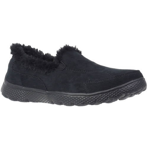 Danskin Now Women's Faux Fur Athletic Slip-On Shoe by Elan-Polo Inc