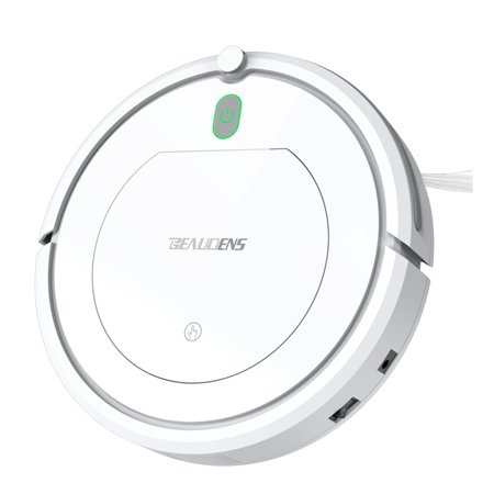 Robot Vacuum Cleaner, BEAUDENS Robotic Mop&Vacuum Planned Cleaner, Slim Design, Automatic Planning for Home Tile Hardwood Floors and Low Pile