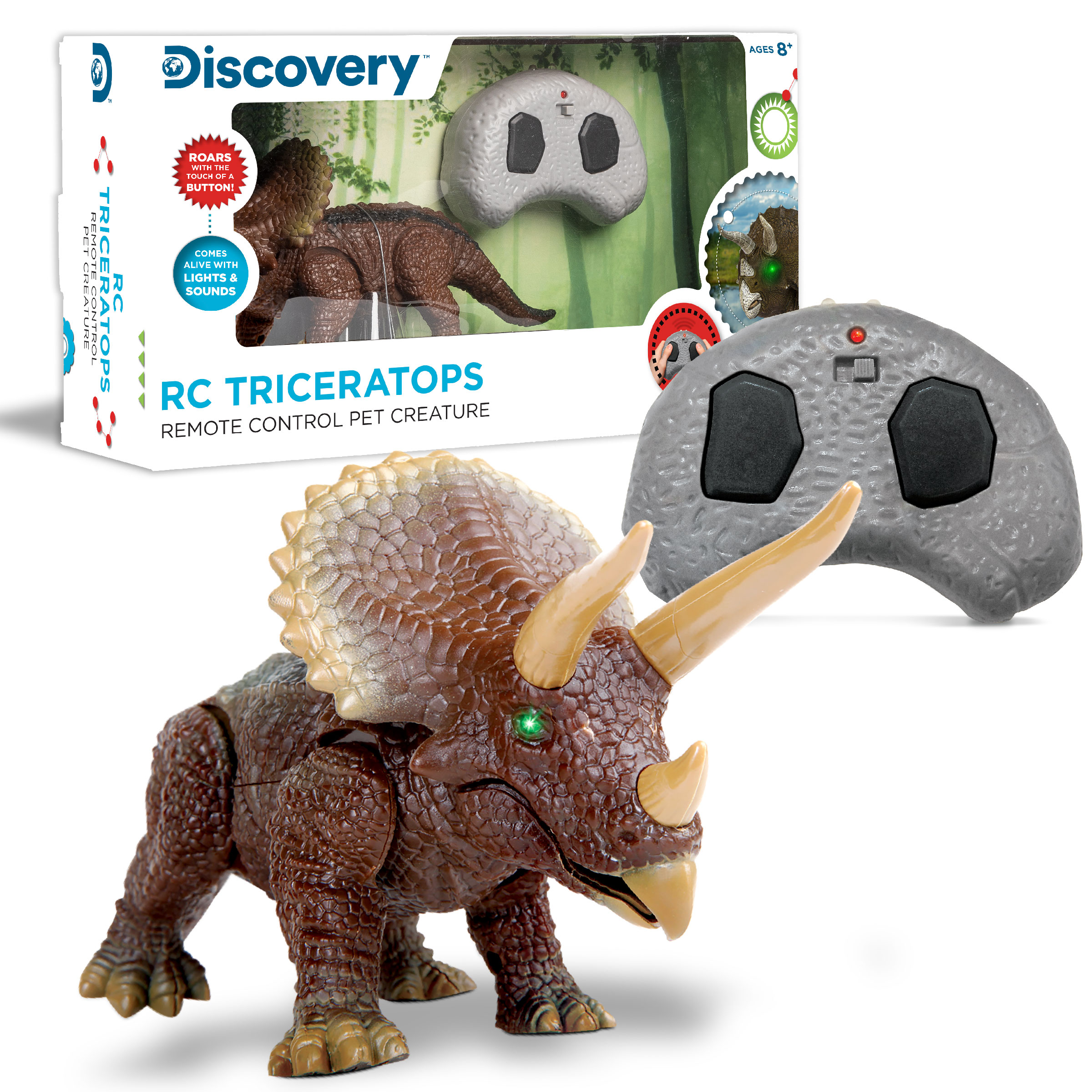 MerchSource RC Triceratops