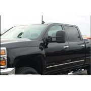Spec D Tuning RMX-SIV14-M-FS Manual Towing Mirrors with Heated Function for 2014-2018 Chevy 1500 Silverado
