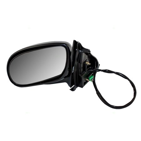 Avenue Mirror - Drivers Power Side View Mirror Heated Memory Replacement for Buick Park Avenue 25739837