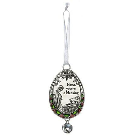 Nana You're a Blessing Mary and Jesus Nativity Christmas Ornament - By Ganz](Nativity Christmas Ornaments)