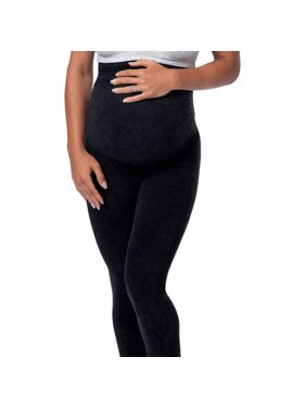 Loving Moments by Leading Lady Maternity Legging With Built-in Back Support Band & 360 Degree Adjustability
