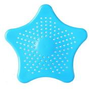 Gobestart Star Bathroom Drain Hair Catcher Bath Stopper Plug Sink Strainer Filter Shower