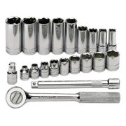 "Sk Professional Tools 3/8"" Drive, Socket Wrench Set, 4521"