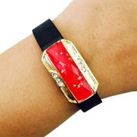 The JASMINE Charm in Red-Fitbit Flex
