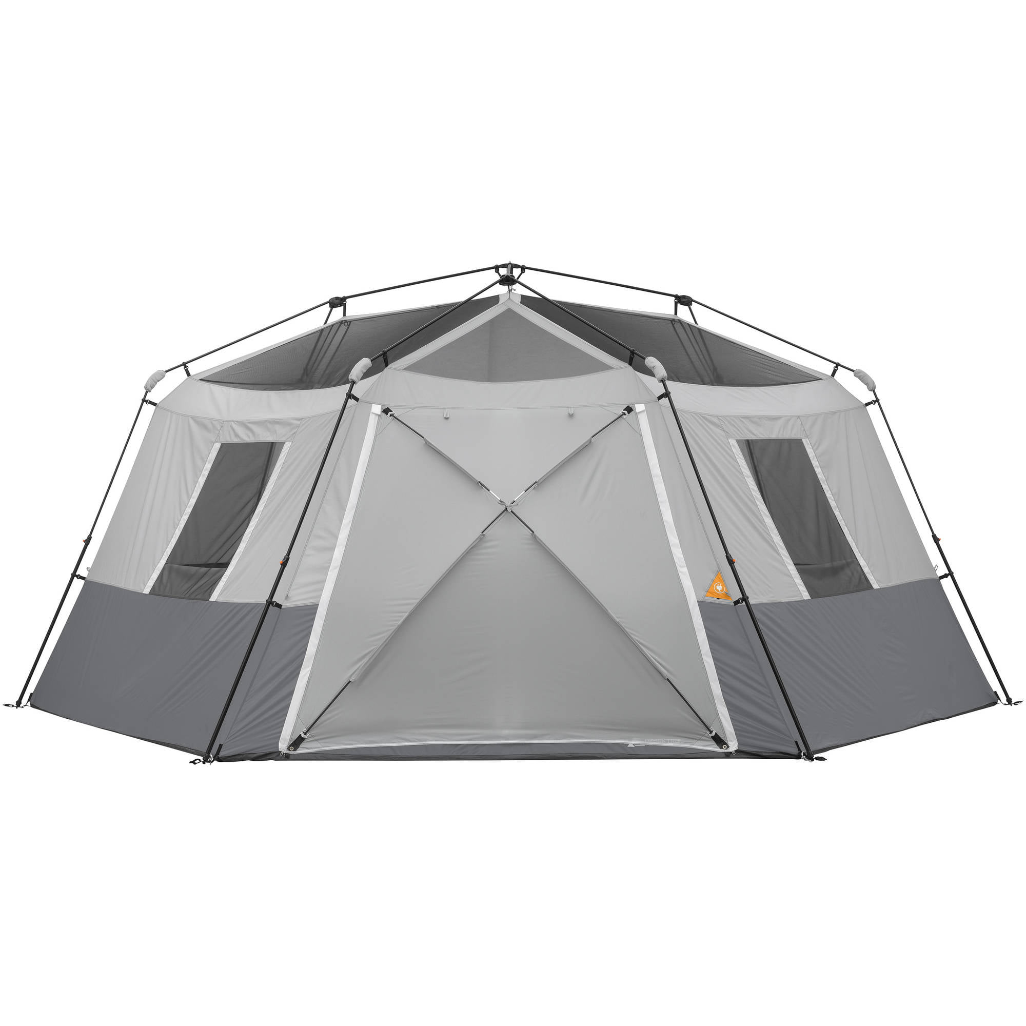 ozark trail 17 x 15 large hexagon tent camping fold out pop up