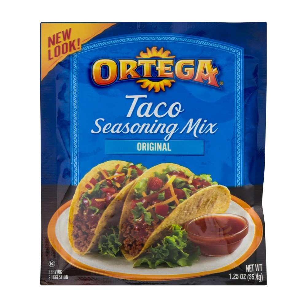 Ortega Taco Seasoning Mix, 1.25 Oz