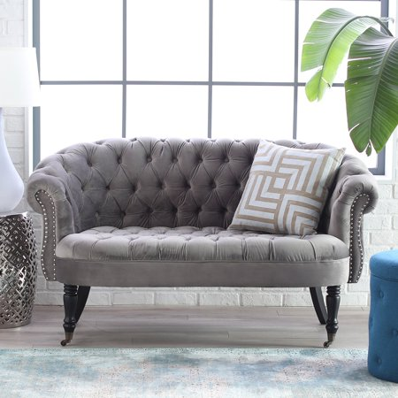 belham living margo tufted mini sofa. Black Bedroom Furniture Sets. Home Design Ideas