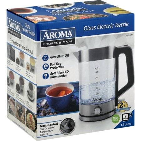 Aroma Professional 7 Cups Electric Glass Kettle, 1 kettle ()