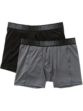 Assorted Microfiber Boxer Brief, 2 Pack