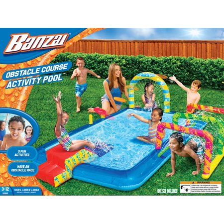 OBSTACLE COURSE ACTIVITY POOL -