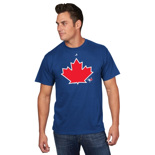 "Toronto Blue Jays Majestic ""Maple Leaf"" T-Shirt - Royal"