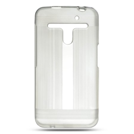 Insten Hard Crystal Skin Tinted Back Protective Case For LG Esteem / Revolution - Clear - Crystal Clear Skin Halloween